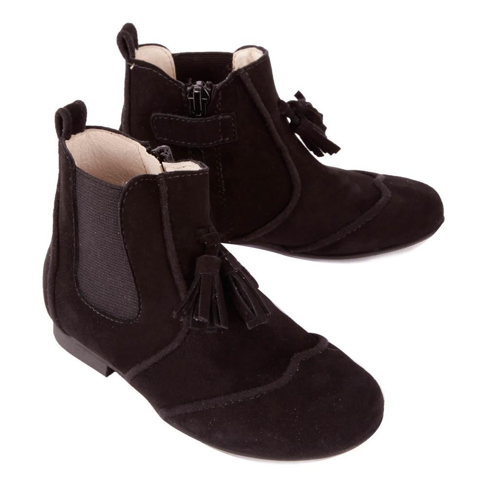 stiefel-mit-reissverschluss-glands-camelia-schwarz